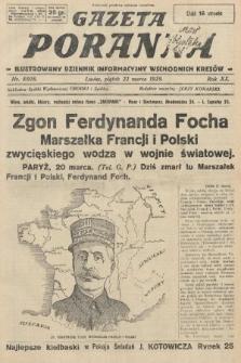 Gazeta Poranna : ilustrowany dziennik informacyjny wschodnich kresów. 1929, nr8808