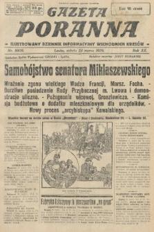 Gazeta Poranna : ilustrowany dziennik informacyjny wschodnich kresów. 1929, nr8809
