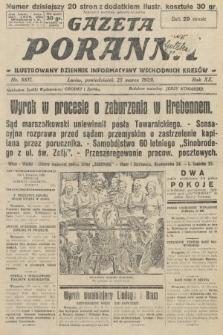 Gazeta Poranna : ilustrowany dziennik informacyjny wschodnich kresów. 1929, nr8811