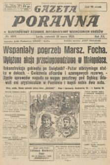Gazeta Poranna : ilustrowany dziennik informacyjny wschodnich kresów. 1929, nr8814