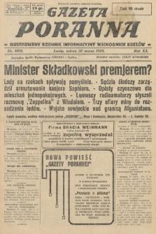 Gazeta Poranna : ilustrowany dziennik informacyjny wschodnich kresów. 1929, nr8816