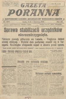Gazeta Poranna : ilustrowany dziennik informacyjny wschodnich kresów. 1929, nr8818