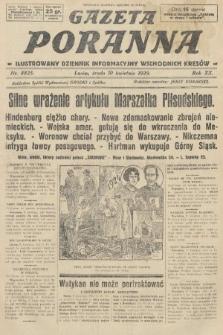 Gazeta Poranna : ilustrowany dziennik informacyjny wschodnich kresów. 1929, nr8825