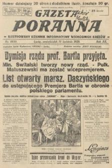 Gazeta Poranna : ilustrowany dziennik informacyjny wschodnich kresów. 1929, nr8830