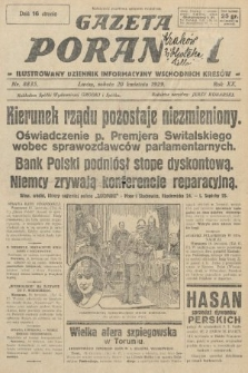 Gazeta Poranna : ilustrowany dziennik informacyjny wschodnich kresów. 1929, nr8835