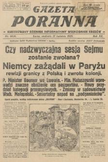 Gazeta Poranna : ilustrowany dziennik informacyjny wschodnich kresów. 1929, nr8836
