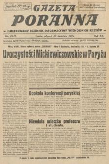 Gazeta Poranna : ilustrowany dziennik informacyjny wschodnich kresów. 1929, nr8845