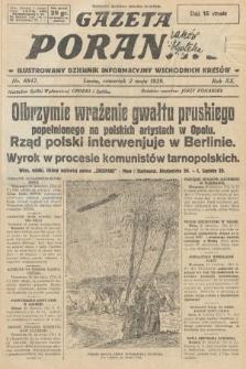 Gazeta Poranna : ilustrowany dziennik informacyjny wschodnich kresów. 1929, nr8847
