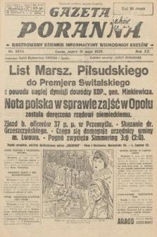 Gazeta Poranna : ilustrowany dziennik informacyjny wschodnich kresów. 1929, nr8854