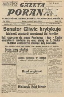 Gazeta Poranna : ilustrowany dziennik informacyjny wschodnich kresów. 1929, nr8855