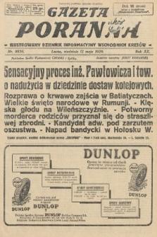 Gazeta Poranna : ilustrowany dziennik informacyjny wschodnich kresów. 1929, nr8856