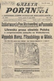 Gazeta Poranna : ilustrowany dziennik informacyjny wschodnich kresów. 1929, nr8861