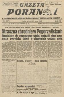 Gazeta Poranna : ilustrowany dziennik informacyjny wschodnich kresów. 1929, nr8871