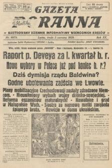 Gazeta Poranna : ilustrowany dziennik informacyjny wschodnich kresów. 1929, nr8879