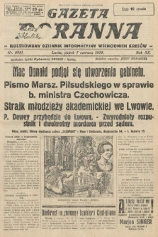 Gazeta Poranna : ilustrowany dziennik informacyjny wschodnich kresów. 1929, nr8881