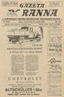 Gazeta Poranna : ilustrowany dziennik informacyjny wschodnich kresów. 1929, nr8884