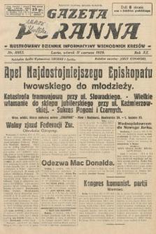 Gazeta Poranna : ilustrowany dziennik informacyjny wschodnich kresów. 1929, nr8885