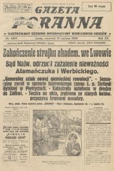 Gazeta Poranna : ilustrowany dziennik informacyjny wschodnich kresów. 1929, nr8887