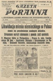 Gazeta Poranna : ilustrowany dziennik informacyjny wschodnich kresów. 1929, nr8891