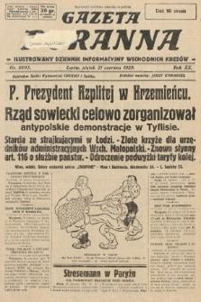 Gazeta Poranna : ilustrowany dziennik informacyjny wschodnich kresów. 1929, nr8895
