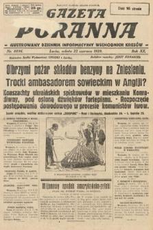 Gazeta Poranna : ilustrowany dziennik informacyjny wschodnich kresów. 1929, nr8896