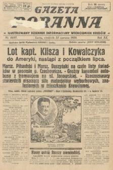 Gazeta Poranna : ilustrowany dziennik informacyjny wschodnich kresów. 1929, nr8897