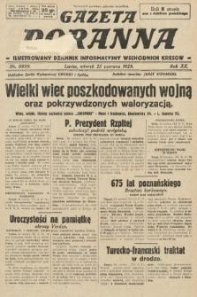 Gazeta Poranna : ilustrowany dziennik informacyjny wschodnich kresów. 1929, nr8899