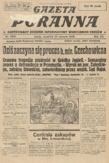 Gazeta Poranna : ilustrowany dziennik informacyjny wschodnich kresów. 1929, nr8901