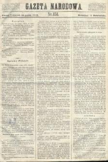 Gazeta Narodowa. 1848, nr151