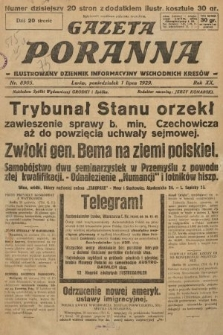 Gazeta Poranna : ilustrowany dziennik informacyjny wschodnich kresów. 1929, nr8905