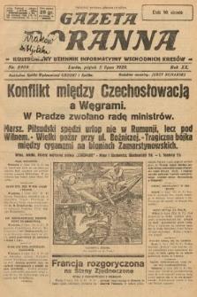 Gazeta Poranna : ilustrowany dziennik informacyjny wschodnich kresów. 1929, nr8909