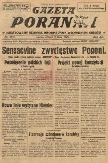 Gazeta Poranna : ilustrowany dziennik informacyjny wschodnich kresów. 1929, nr8913