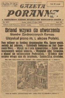 Gazeta Poranna : ilustrowany dziennik informacyjny wschodnich kresów. 1929, nr8917
