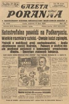 Gazeta Poranna : ilustrowany dziennik informacyjny wschodnich kresów. 1929, nr8918