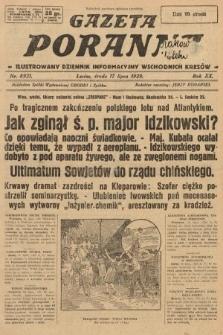 Gazeta Poranna : ilustrowany dziennik informacyjny wschodnich kresów. 1929, nr8921