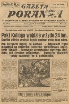 Gazeta Poranna : ilustrowany dziennik informacyjny wschodnich kresów. 1929, nr8923