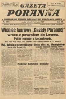 Gazeta Poranna : ilustrowany dziennik informacyjny wschodnich kresów. 1929, nr8941