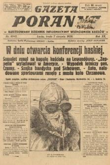 Gazeta Poranna : ilustrowany dziennik informacyjny wschodnich kresów. 1929, nr8942