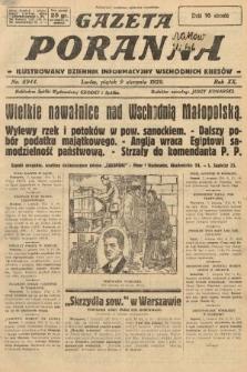 Gazeta Poranna : ilustrowany dziennik informacyjny wschodnich kresów. 1929, nr8944