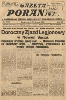 Gazeta Poranna : ilustrowany dziennik informacyjny wschodnich kresów. 1929, nr8948