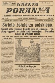 Gazeta Poranna : ilustrowany dziennik informacyjny wschodnich kresów. 1929, nr8952