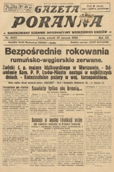 Gazeta Poranna : ilustrowany dziennik informacyjny wschodnich kresów. 1929, nr8955