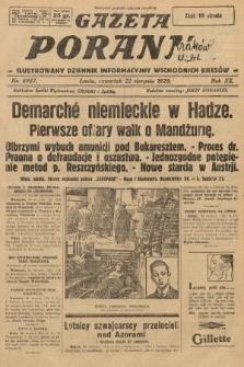 Gazeta Poranna : ilustrowany dziennik informacyjny wschodnich kresów. 1929, nr8957