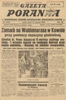 Gazeta Poranna : ilustrowany dziennik informacyjny wschodnich kresów. 1929, nr8958