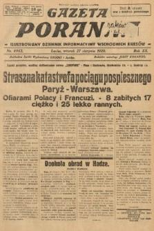 Gazeta Poranna : ilustrowany dziennik informacyjny wschodnich kresów. 1929, nr8962