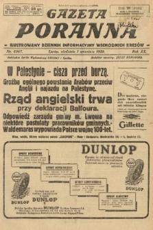 Gazeta Poranna : ilustrowany dziennik informacyjny wschodnich kresów. 1929, nr8967