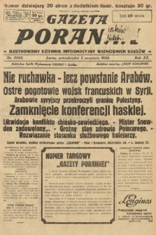 Gazeta Poranna : ilustrowany dziennik informacyjny wschodnich kresów. 1929, nr8968