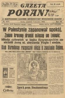 Gazeta Poranna : ilustrowany dziennik informacyjny wschodnich kresów. 1929, nr8971