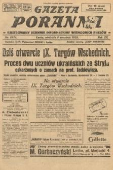 Gazeta Poranna : ilustrowany dziennik informacyjny wschodnich kresów. 1929, nr8974