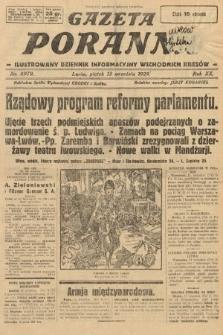 Gazeta Poranna : ilustrowany dziennik informacyjny wschodnich kresów. 1929, nr8979